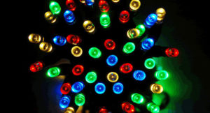 Solar Powered Christmas Lights