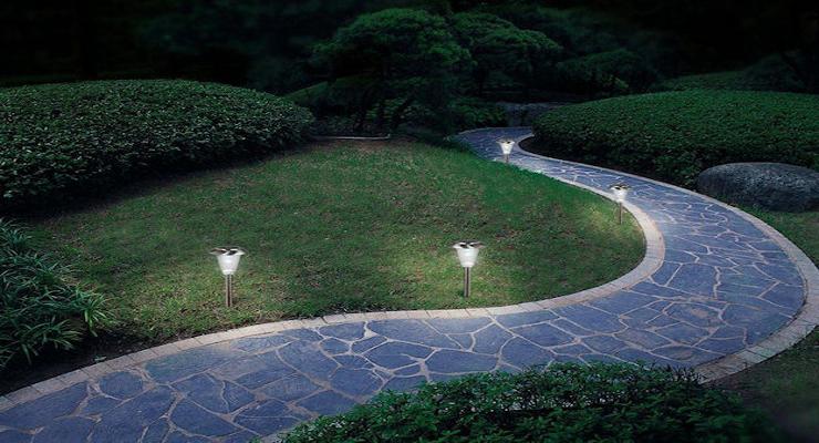 Solar lights landscaping ideas the solar lights site solar lights landscaping ideas mozeypictures Choice Image