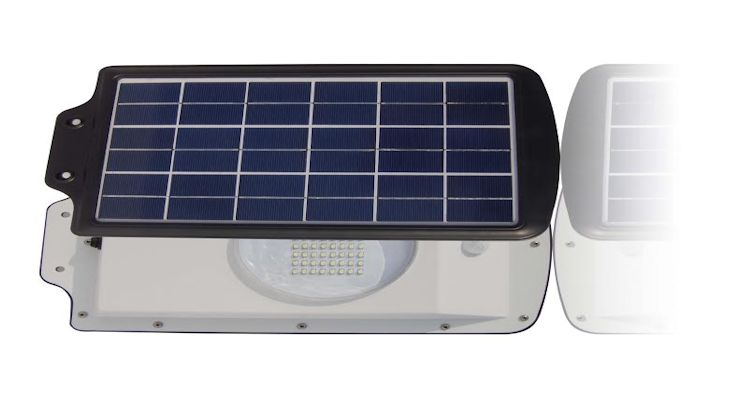 Greenlytes 64 LED Solar Parking Lot Light