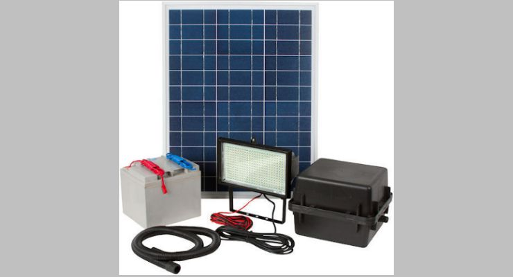 Greenlytes Commercial Solar Flood Light 336 LED