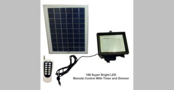 Solar Goes Green SGG-F108-3T Solar Flood Light Review