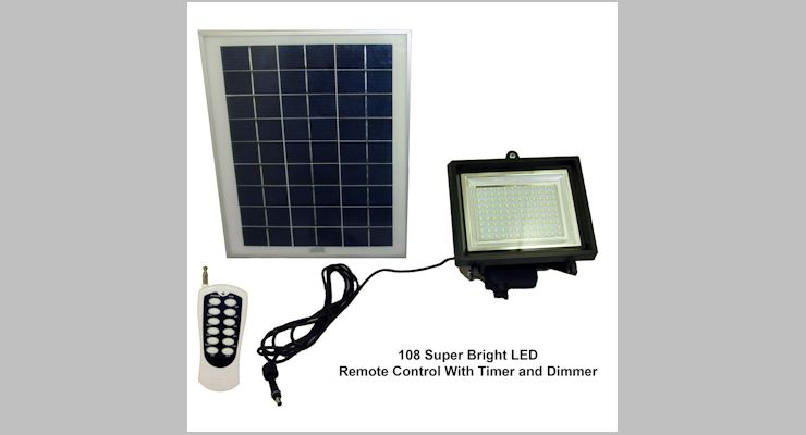 Solar Goes Green Sgg F108 3t Flood Light Review